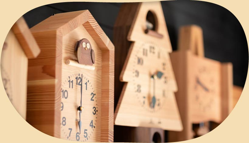キコリ時計工房(Kicori)ではセミオーダーも承ります