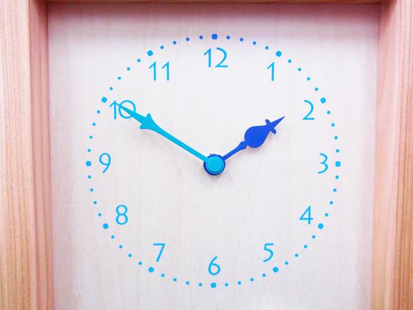 木製の掛け時計・置き時計・からくり時計など贈り物に人気の手作り時計 |キコリ時計工房(Kicori)【本店】|柴犬と白文鳥の時計(黒)