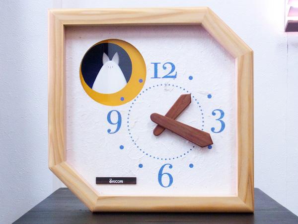 木製の掛け時計・置き時計・からくり時計など贈り物に人気の手作り時計 |キコリ時計工房(Kicori)【本店】|月に住むうさぎの時計