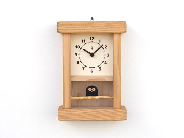 木製の掛け時計・置き時計・からくり時計など贈り物に人気の手作り時計 |キコリ時計工房(Kicori)【本店】|枝のフクロウ時計