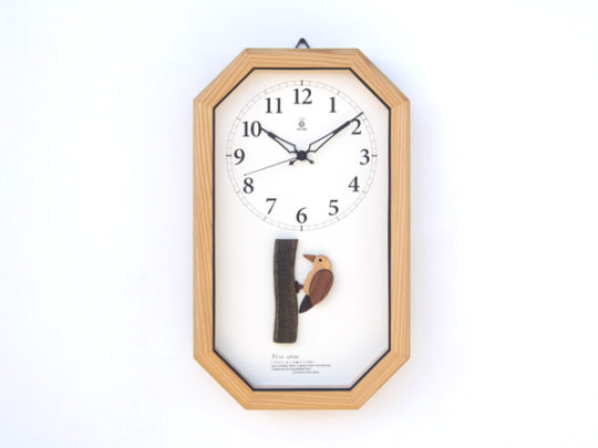 ヤマゲラの電波時計