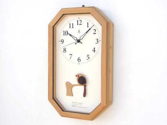 木製の掛け時計・置き時計・からくり時計など贈り物に人気の手作り時計 |キコリ時計工房(Kicori)【本店】|エナガの電波時計
