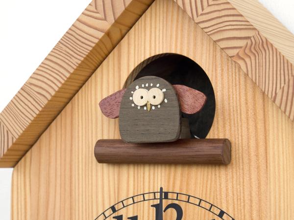 木製の掛け時計・置き時計・からくり時計など贈り物に人気の手作り時計 |キコリ時計工房(Kicori)【本店】|バードハウスの時計