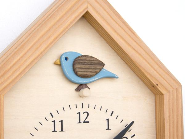 木製の掛け時計・置き時計・からくり時計など贈り物に人気の手作り時計 |キコリ時計工房(Kicori)【本店】|青い鳥の時計
