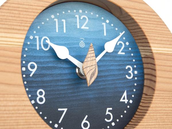 木製の掛け時計・置き時計・からくり時計など贈り物に人気の手作り時計 |キコリ時計工房(Kicori)【本店】|海の置時計