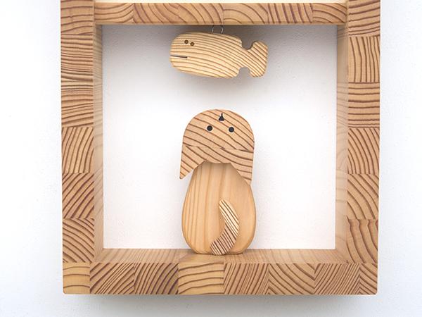 木製の掛け時計・置き時計・からくり時計など贈り物に人気の手作り時計 |キコリ時計工房(Kicori)【本店】|ネコとサカナの時計