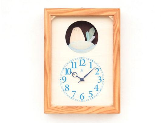しろくまの時計
