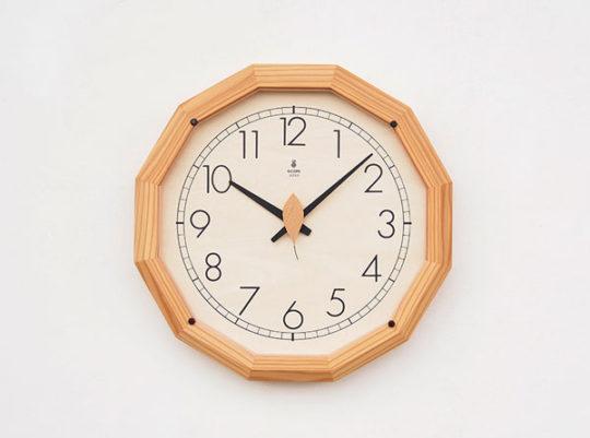 森の電葉時計(大)
