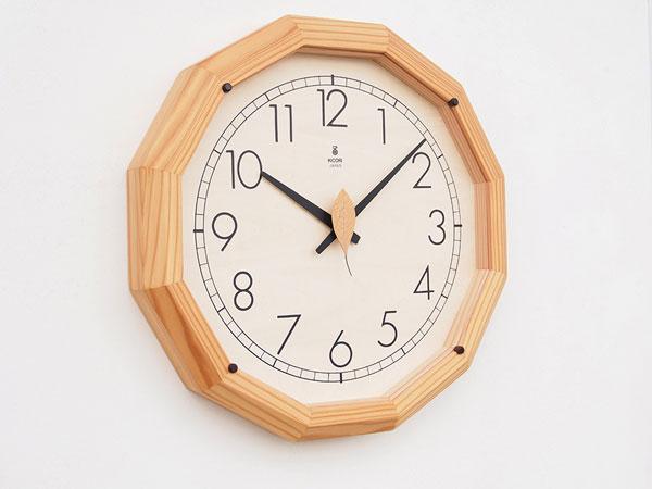 木製の掛け時計・置き時計・からくり時計など贈り物に人気の手作り時計 |キコリ時計工房(Kicori)【本店】|森の電葉時計(大)