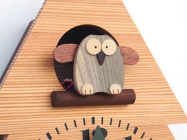 木製の掛け時計・置き時計・からくり時計など贈り物に人気の手作り時計 |キコリ時計工房(Kicori)【本店】|森のフクロウ時計