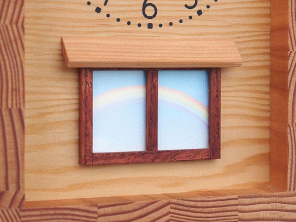 木製の掛け時計・置き時計・からくり時計など贈り物に人気の手作り時計 |キコリ時計工房(Kicori)【本店】|雨あがりの時計