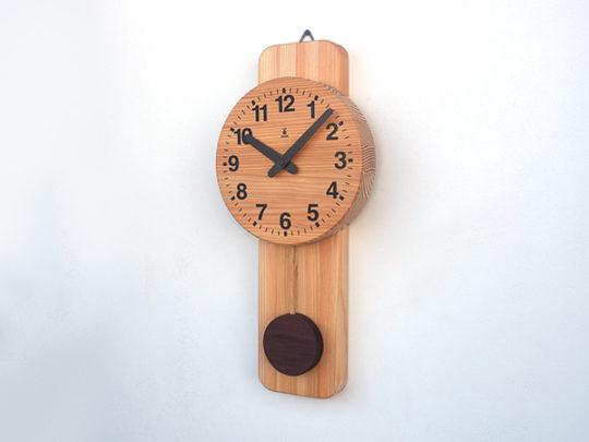木製の掛け時計・置き時計・からくり時計など贈り物に人気の手作り時計 |キコリ時計工房(Kicori)【本店】|丸型時計