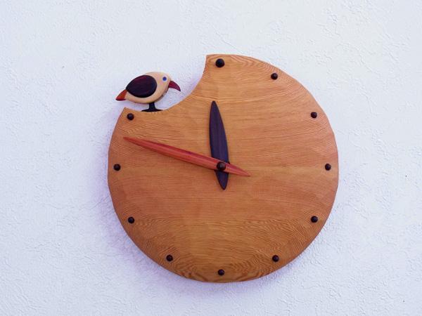 木製の掛け時計・置き時計・からくり時計など贈り物に人気の手作り時計  キコリ時計工房(Kicori)【本店】 木つ月の時計
