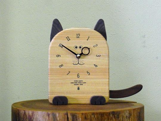ねこの時計