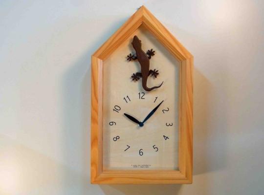 ヤモリの時計